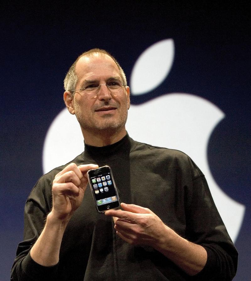 Steve Jobs introduced the iPhone