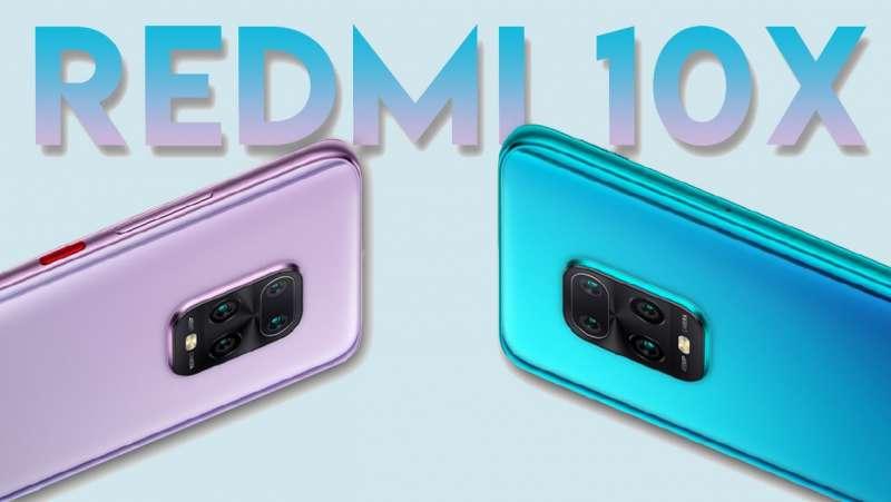Smartphone mới nhất Redmi 10x - Đế vương của phân khúc tầm trung mới