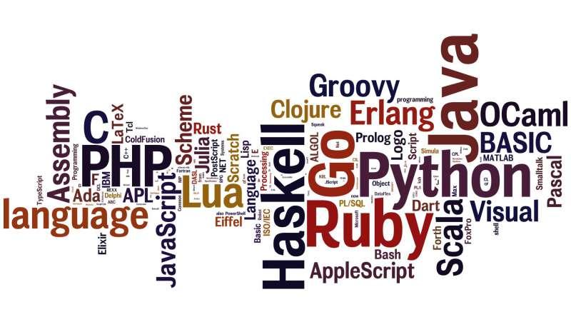 Top ngôn ngữ lập trình Back End
