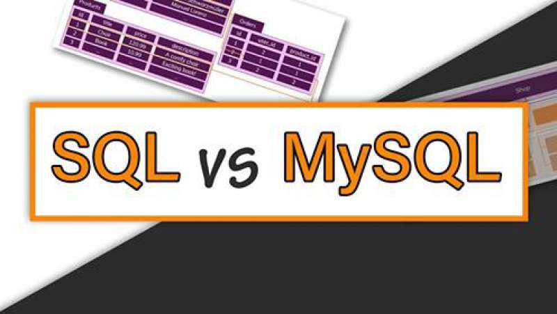 Sự khác nhau giữa SQL và MySQL