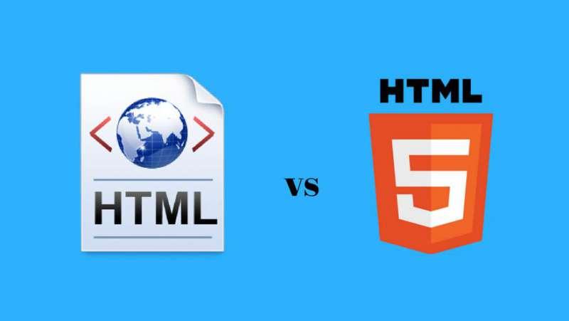 So sánh giữa HTML và HTML5