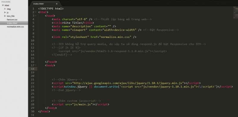 Tổng quan về HTML & CSS